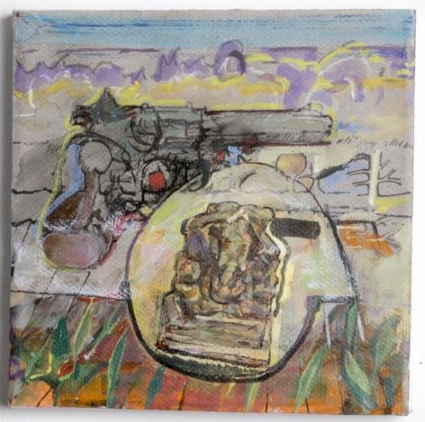 Judy Glantzman, Imagination XIV,2015