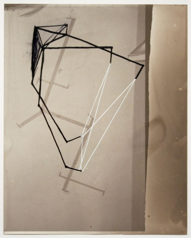 UNTITLED, 2006, Ink, acrylic on photo paper in artist steel frame