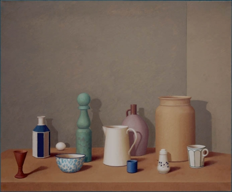 Green Room, 2011, Oil on canvas