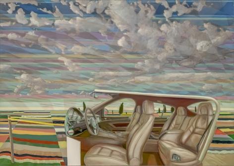 Trojan House, 2018, Oil on canvas