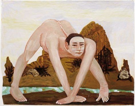Charles Garabedian, The Eunich,2003 - 2004