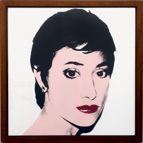 Andy Warhol Portrait of Helene Verin, 1980