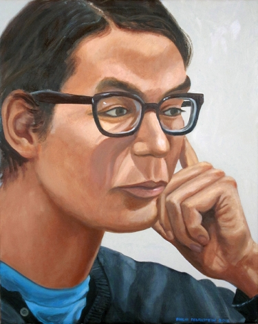 Portrait of Osamu Kobayashi, 2013, Oil on canvas
