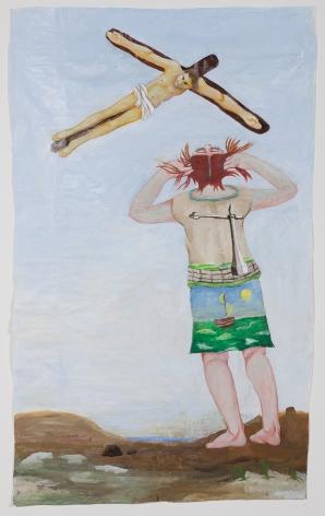 Stigmata, 2014, acrylic on paper