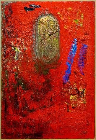 Jake Berthot Untitled (Carl's Red), 1988