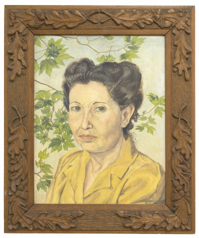 Philip Pearlstein, The Artist's Mother (Libby Kalser Perlstein), 1946
