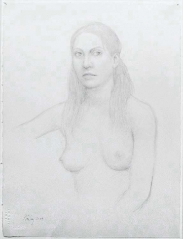 UNTITLED, 2004, Pencil on paper