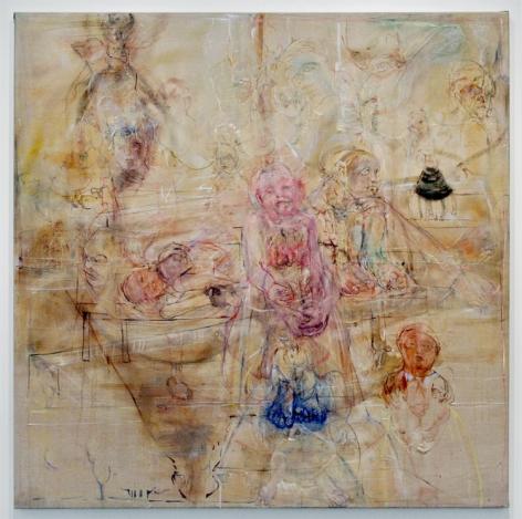 THREE GRACES, 2008, Oil on canvas