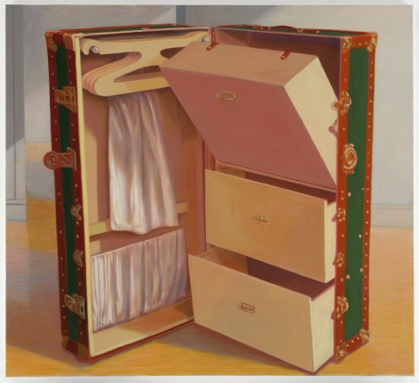 OPEN DRAWERS, 2007, Oil on canvas