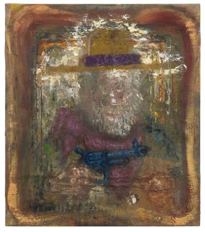 Old Buckaroo, 2011, Oil on canvas