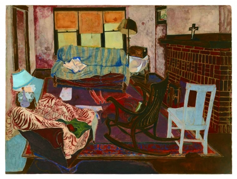 Andy Warhol Living Room, 1948
