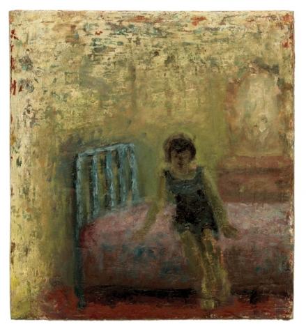 Jean Rhys, 2010, Oil on masonite