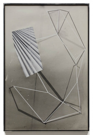 Untitled, 2012, Ink and gouache on photo emulsion paper