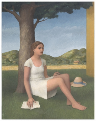 William Bailey, Dreaming in Umbria, 2015