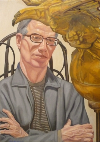 Portrait of Patterson Sims, 2009, Oil on canvas