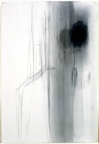Untitled, 1987, Graphite and gesso on paper