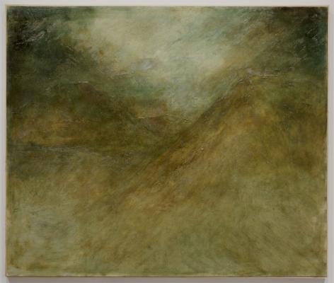 North Mountain Ridge, 2013, Oil on Linen