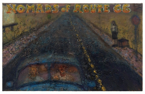 Nomads of Route 66, 2011, Oil on canvas