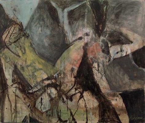 oil painting by Nicolas Carone