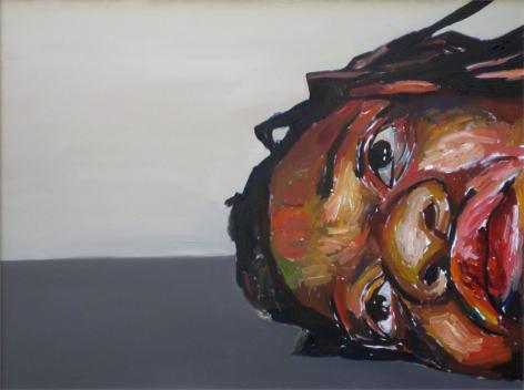 Depression Series #5, 2010, Oil on canvas