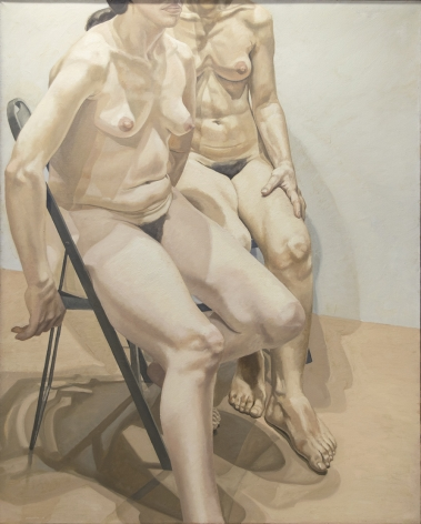 Image of Two Seated Models