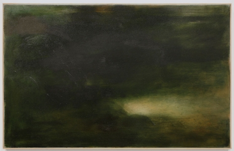 """Is the Sound of the Sky the Blue Voice of Air"" (Poem by Pablo Neruda), 2012, Oil on Linen"