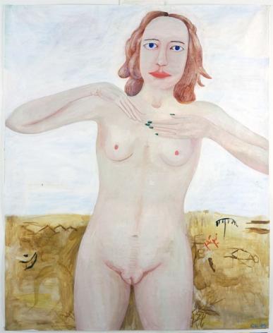MYTHOLOGICAL FIGURE, 2005, Acrylic on paper