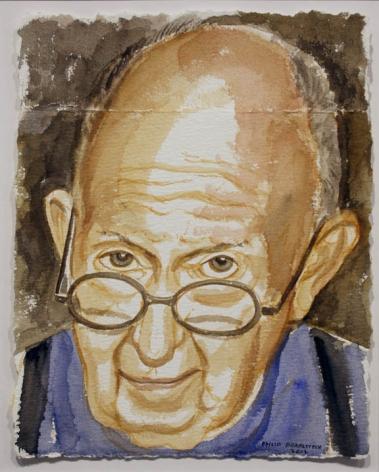 Self Portrait, 2012, Watercolor on Paper