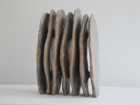 Petal II, 1990, Ceramic and encaustic