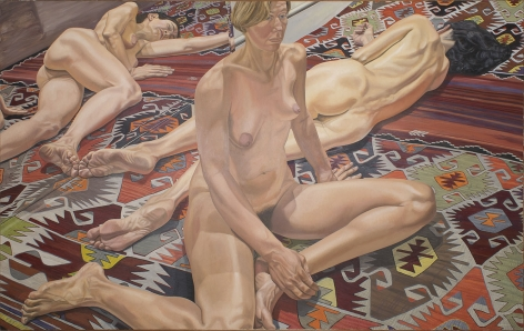 Philip Pearlstein, Two Models and Reflections, 1985