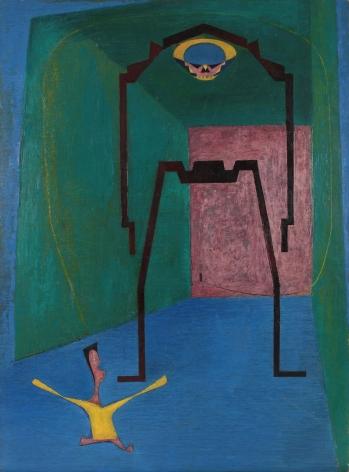 Philip Pearlstein Bogey Man, 1949
