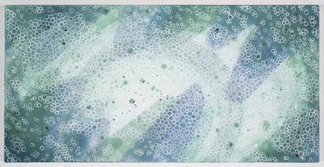 INNER CIRCLE, 2007, Pigment on linen