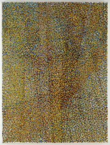 TREE: HOMMAGE TO P.M., 1989, Oil on canvas