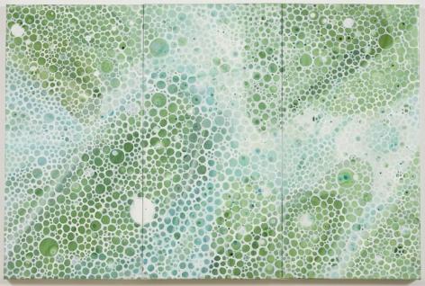 INNER CIRCLE, 2006, Pigment on linen
