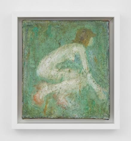 Image of Woman Crouching