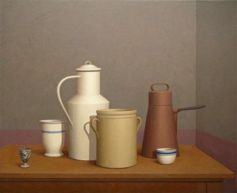 DOGLIO, 2007, Oil on canvas