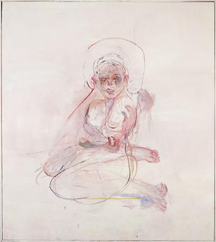 Judy Glantzman, Torque, 2001