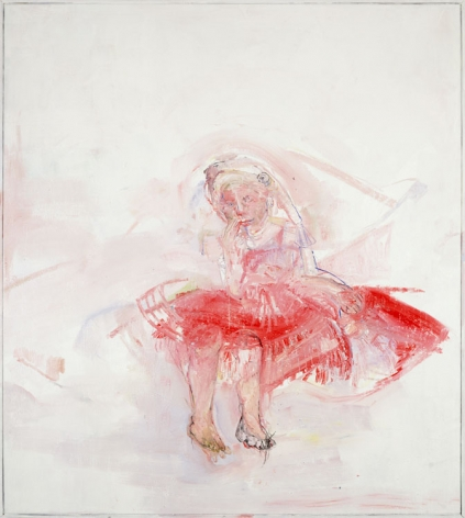 RED DRESS, 1999, Oil on canvas