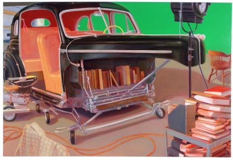 Internal Combustion, 2011, Oil on linen
