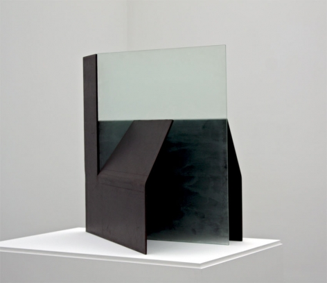 Gift of the Bridge (Maquette), 1975, Etched glass and steel