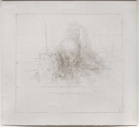 Untitled, 2010-2011, Graphite on Paper