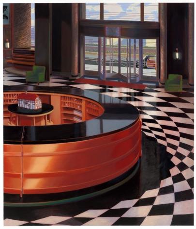 LOBBY, 2008, Oil on canvas