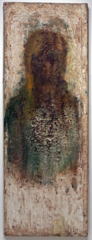 Bust, 1996-2010, Oil on canvas over panel
