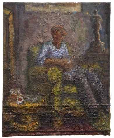 Image of Man sitting in armchair, 2008 - 2015