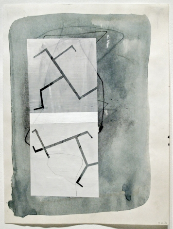 UNTITLED, 2006, Ink and wash on paper