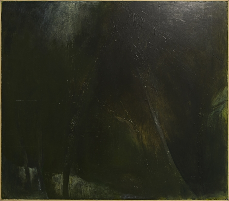 """Winter Woods- Night (A Prayer for """"Crazy Horse""""), 2002"""