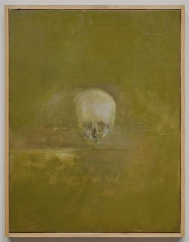 Skull, 2012, Oil on Linen