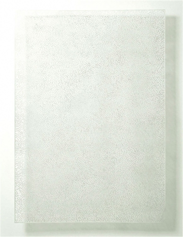 DIAPHAN 35, WHITE/WHITE, 2008, Acrylic on aluminum