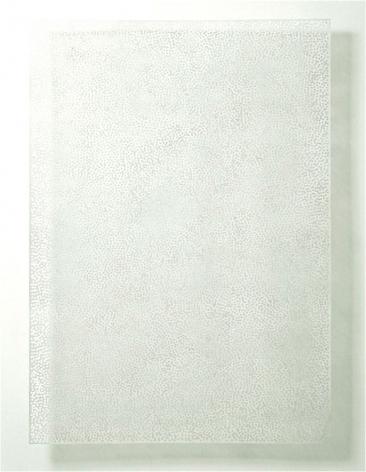 DIAPHAN 35, WHITE/WHITE, 2008, Acrylic on aluminum