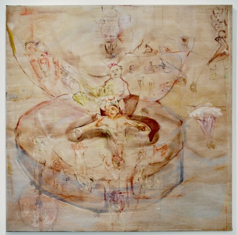THE LAMB, 2008, Oil on canvas